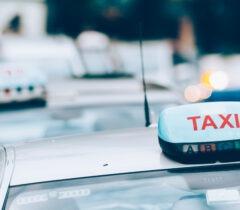 Photo voiture de taxi